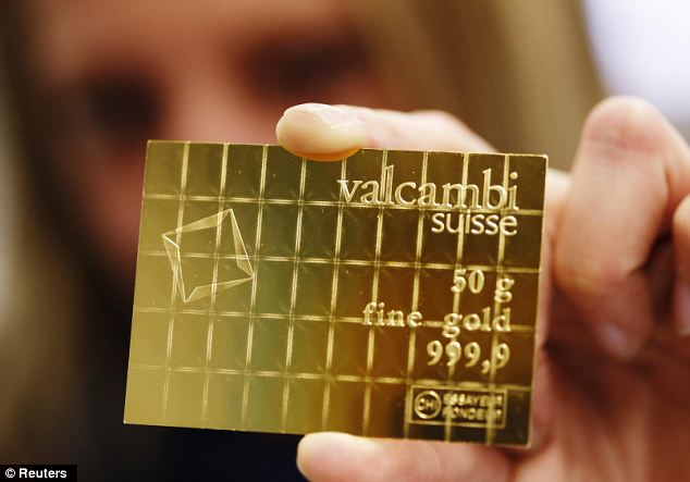 Now You Can Buy A Real Gold Bar The Size Of A Credit Card